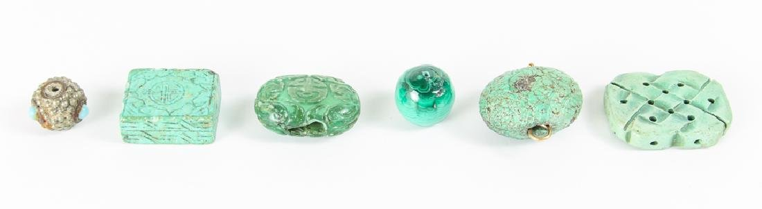 Group of Turquoise Beads - 3