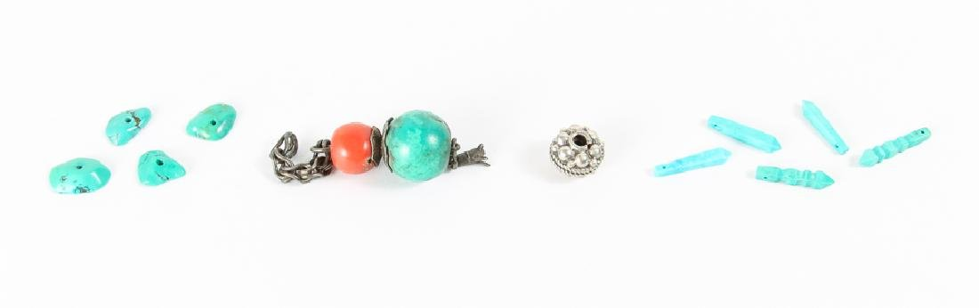 Group of Turquoise Beads - 4