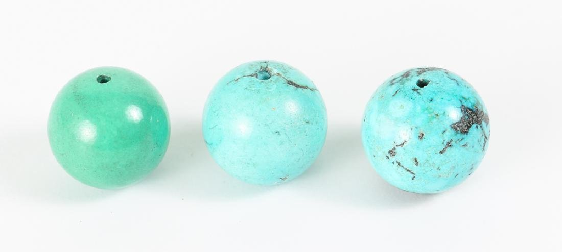 Group of Turquoise Beads - 6