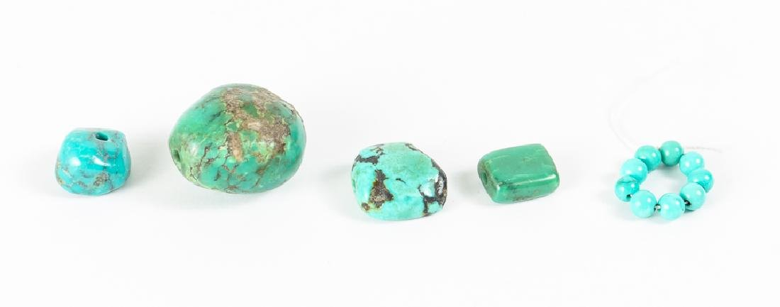 Group of Turquoise Beads - 8