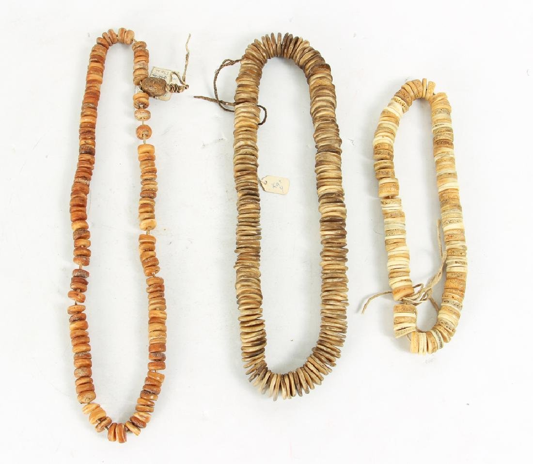 Large Group of Bone and Horn Beads - 6