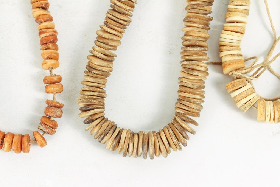 Large Group of Bone and Horn Beads - 7
