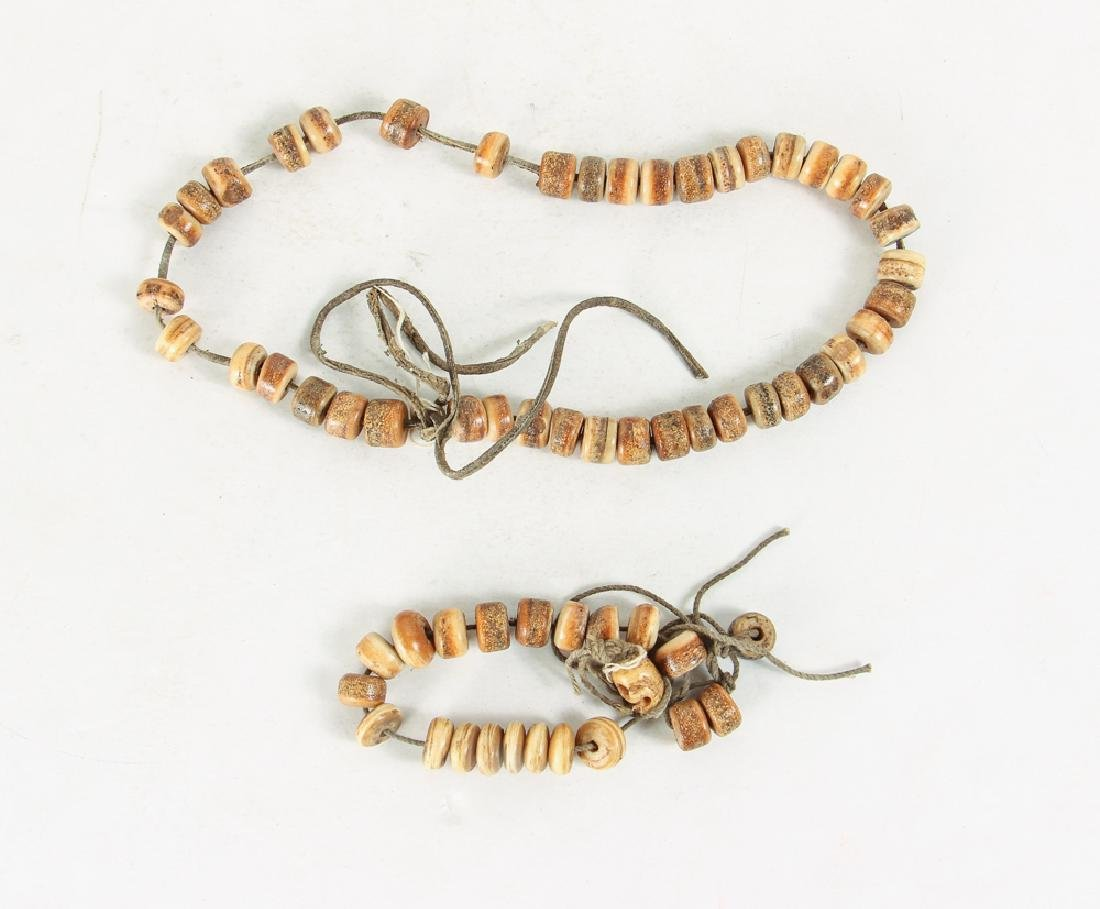 Large Group of Bone and Horn Beads - 8