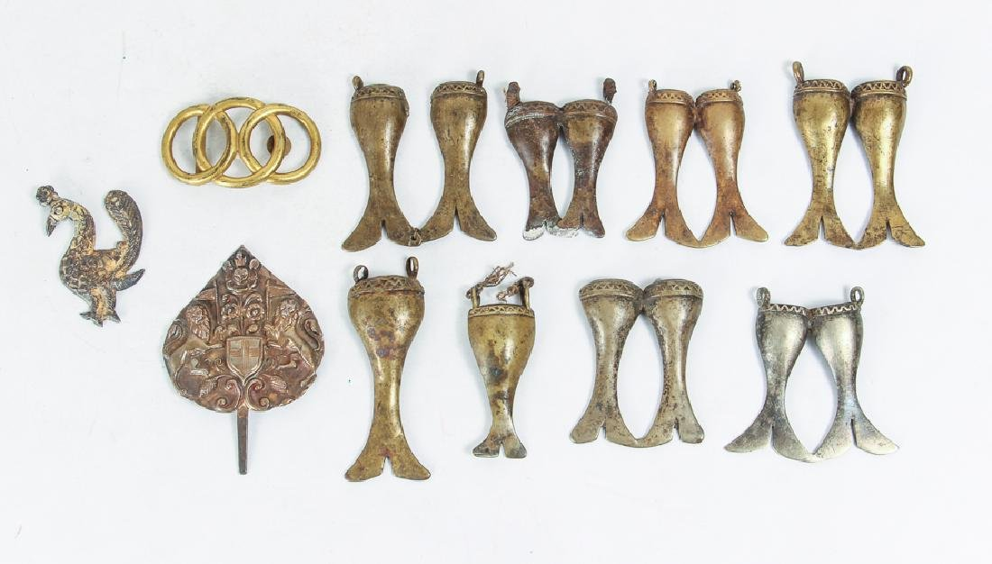 Large Group of Brass Decorative Items - 4