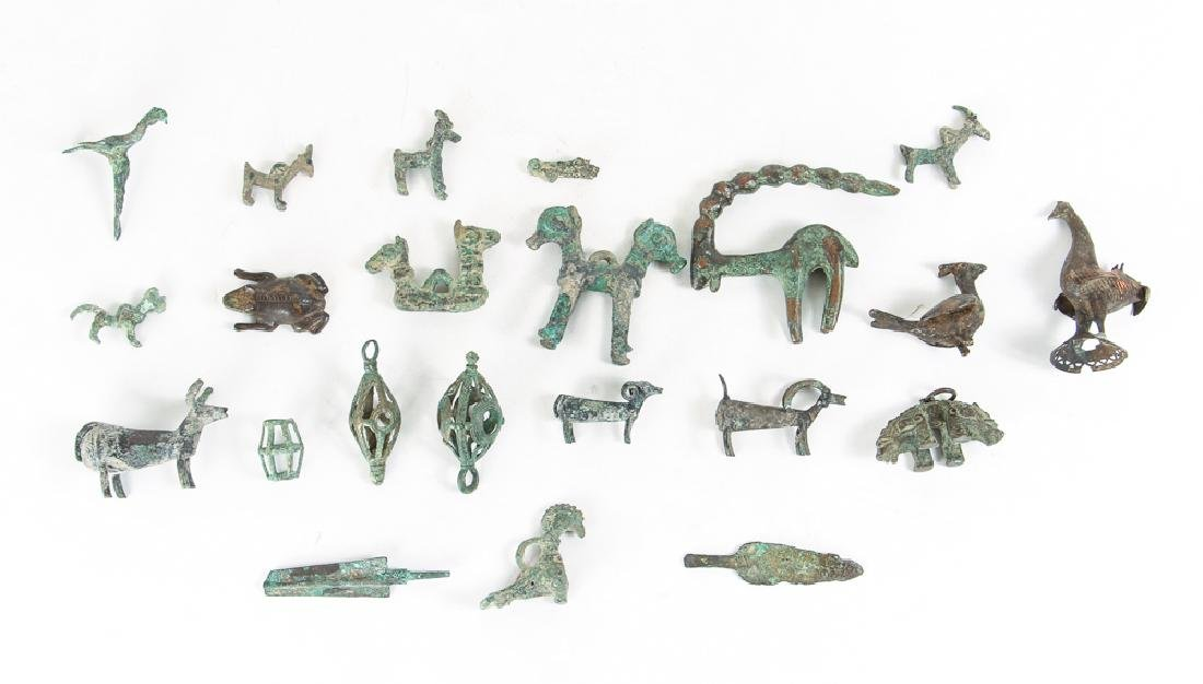 Large Group of Archaic Bronze Objects