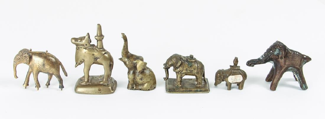 Large Group of Brass Animals - 2