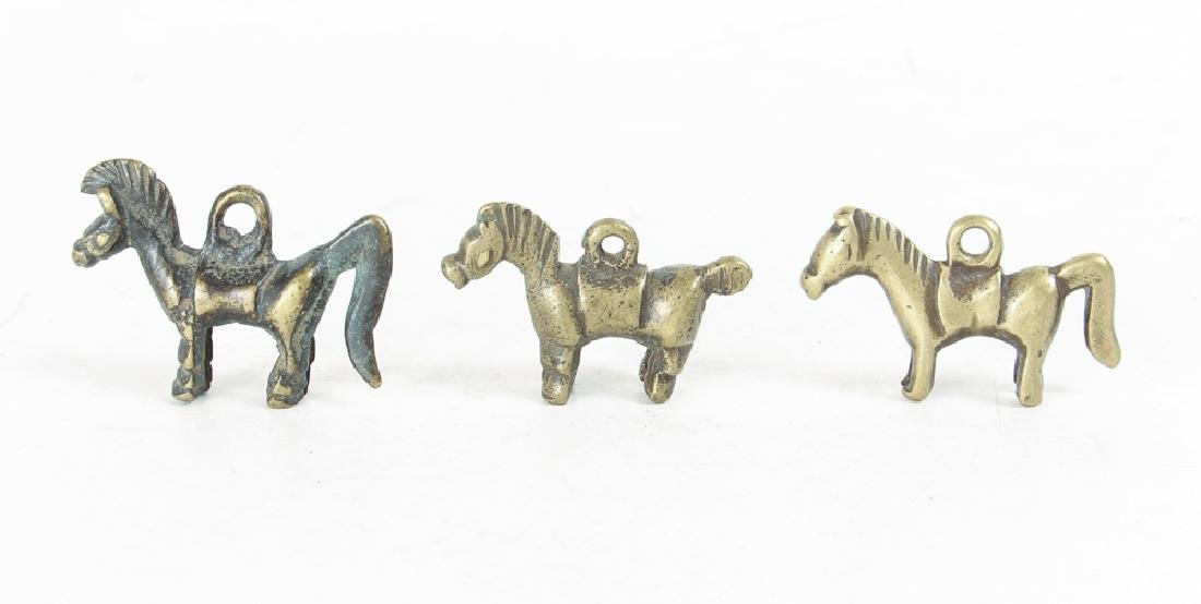 Large Group of Brass Horse and Riders - 2