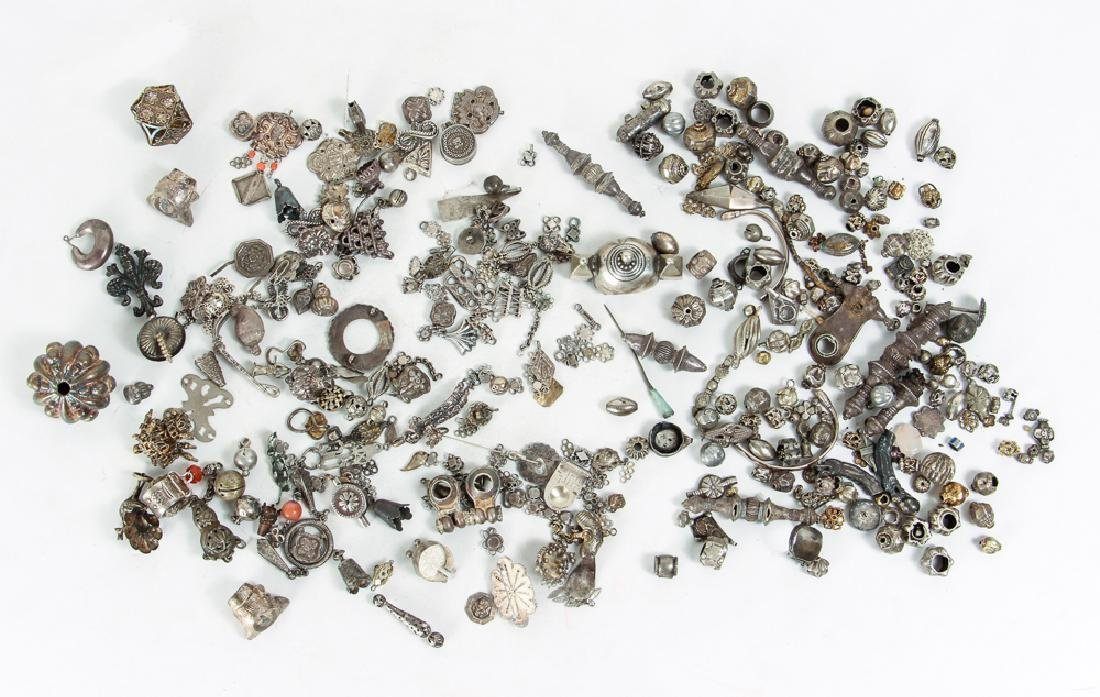 Large Group of Miscellaneous Jewelry Parts