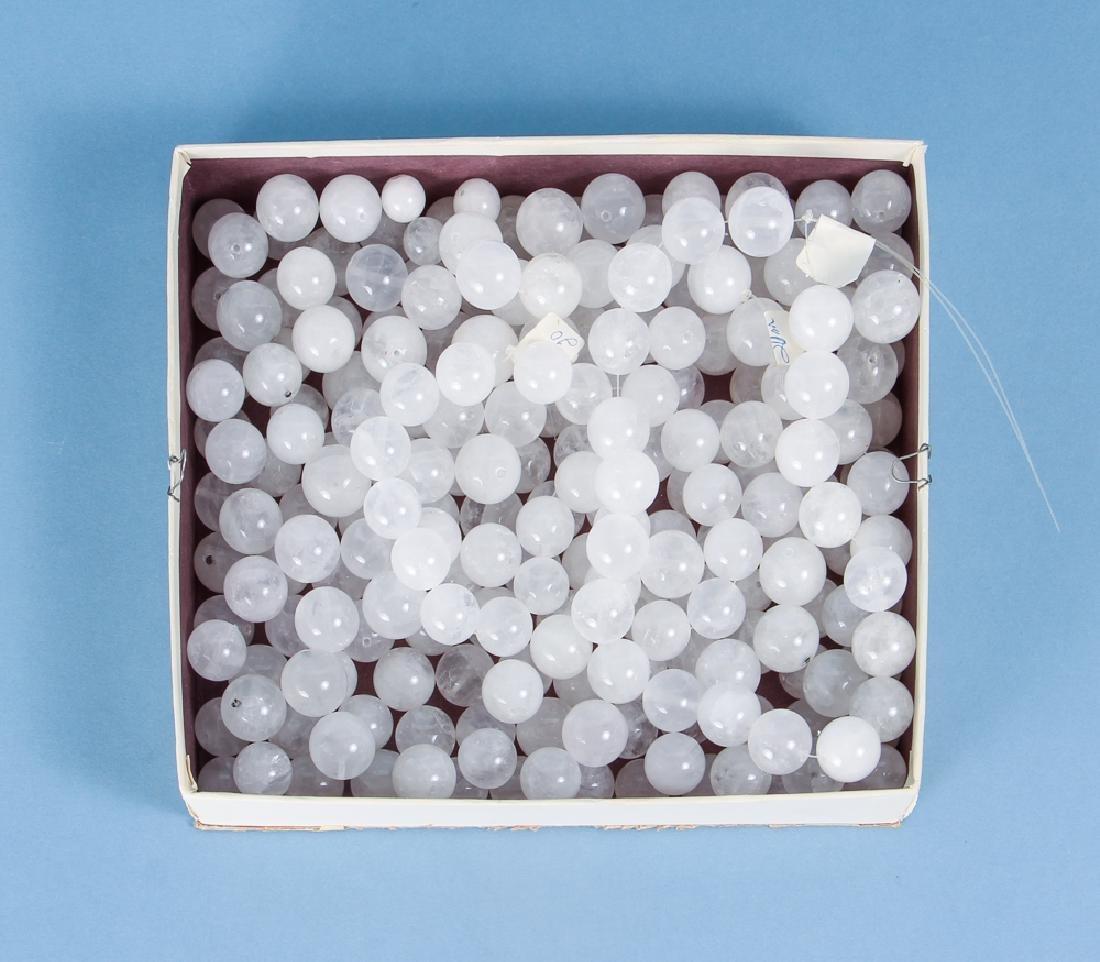 Large Group of Quartz Beads