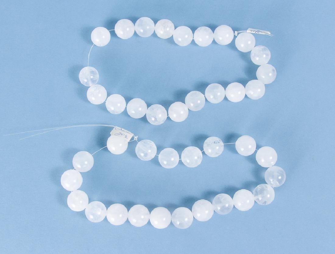 Large Group of Quartz Beads - 4
