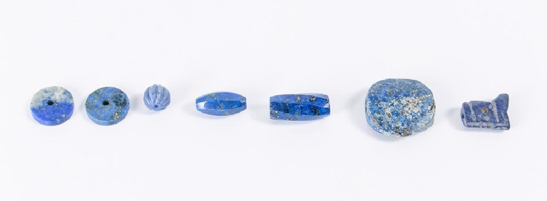 Large Group of Lapis Beads - 7