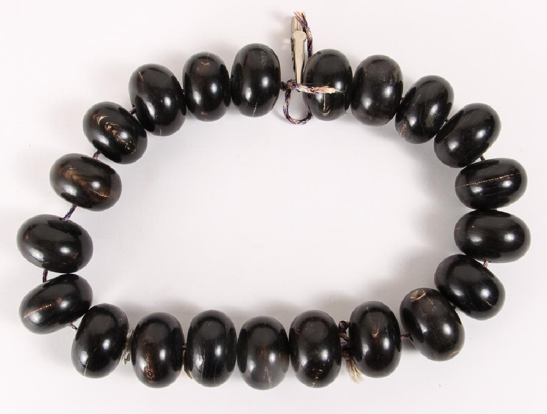 Large Group of Black Beads - 2