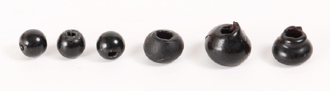 Large Group of Black Beads - 7
