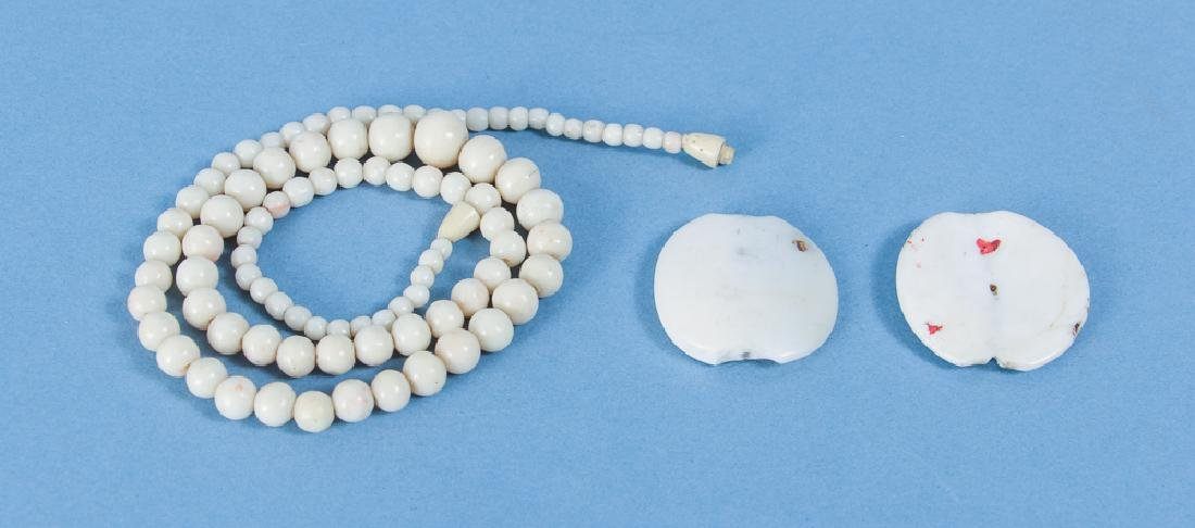 Group of Shell and Related Beads - 10