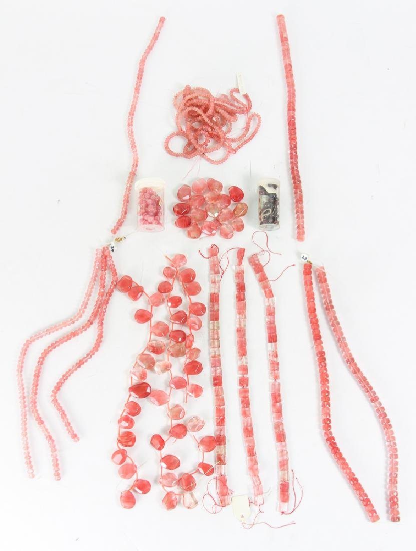 Group of Pink and Colored Beads