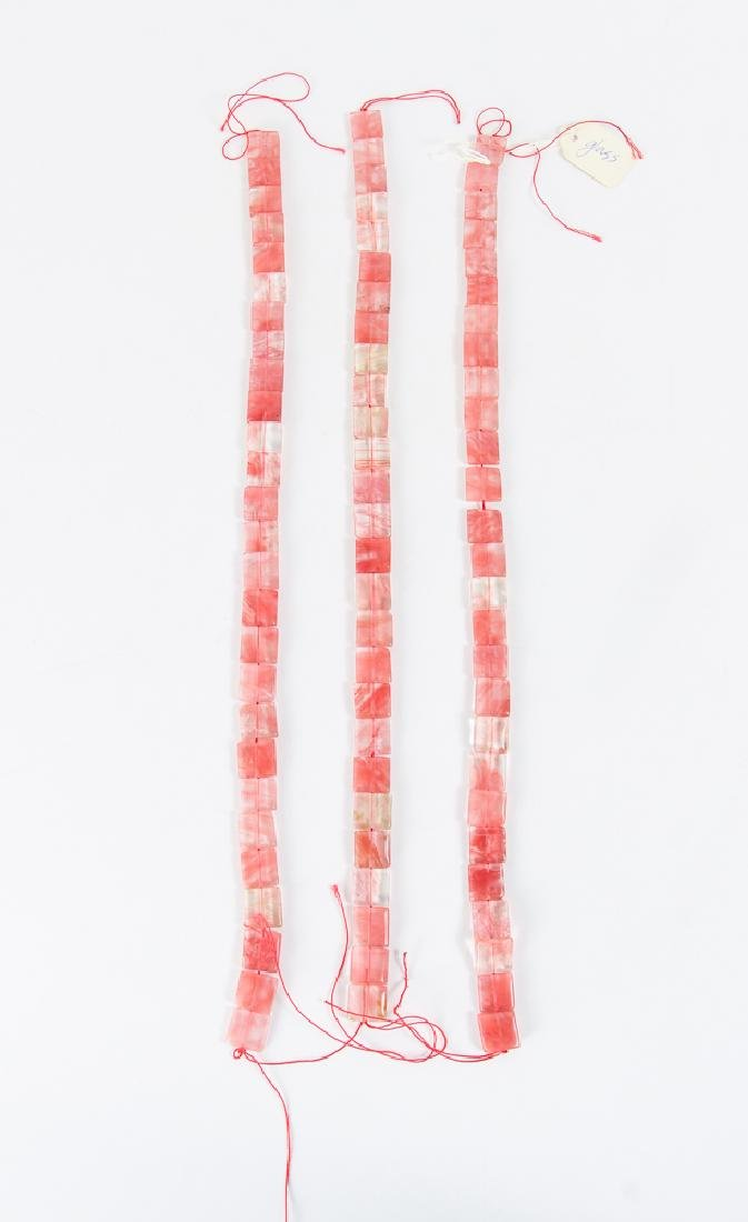 Group of Pink and Colored Beads - 6