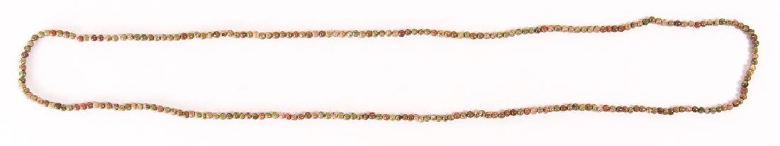 Group of Tiny Jasper and Other Beads - 6