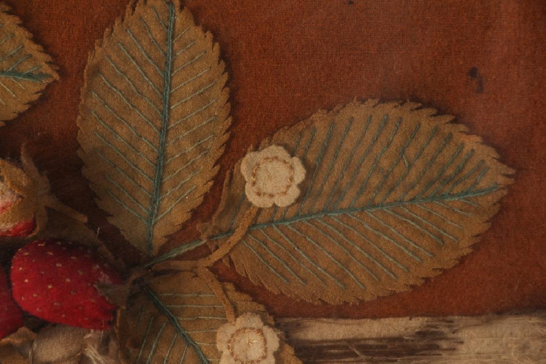 Victorian Felt Work Pictures - 6