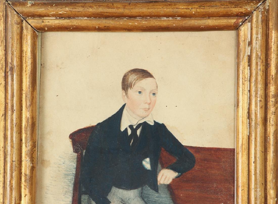 Folk Art Depiction of an Adolescent Boy - 3