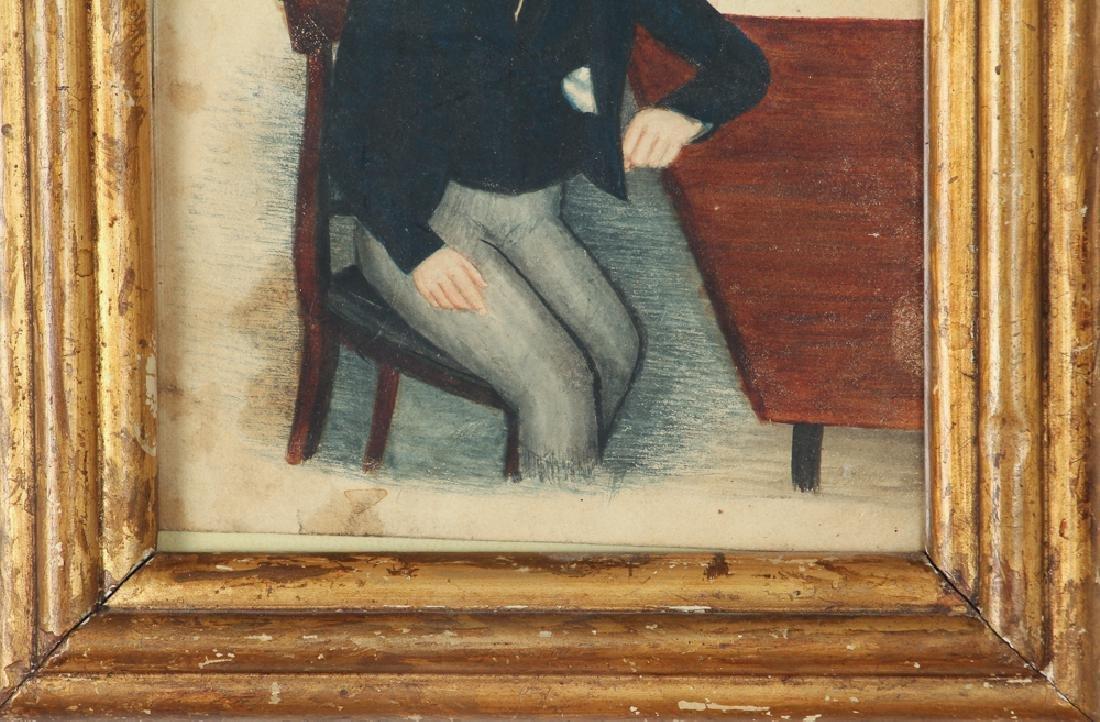 Folk Art Depiction of an Adolescent Boy - 4