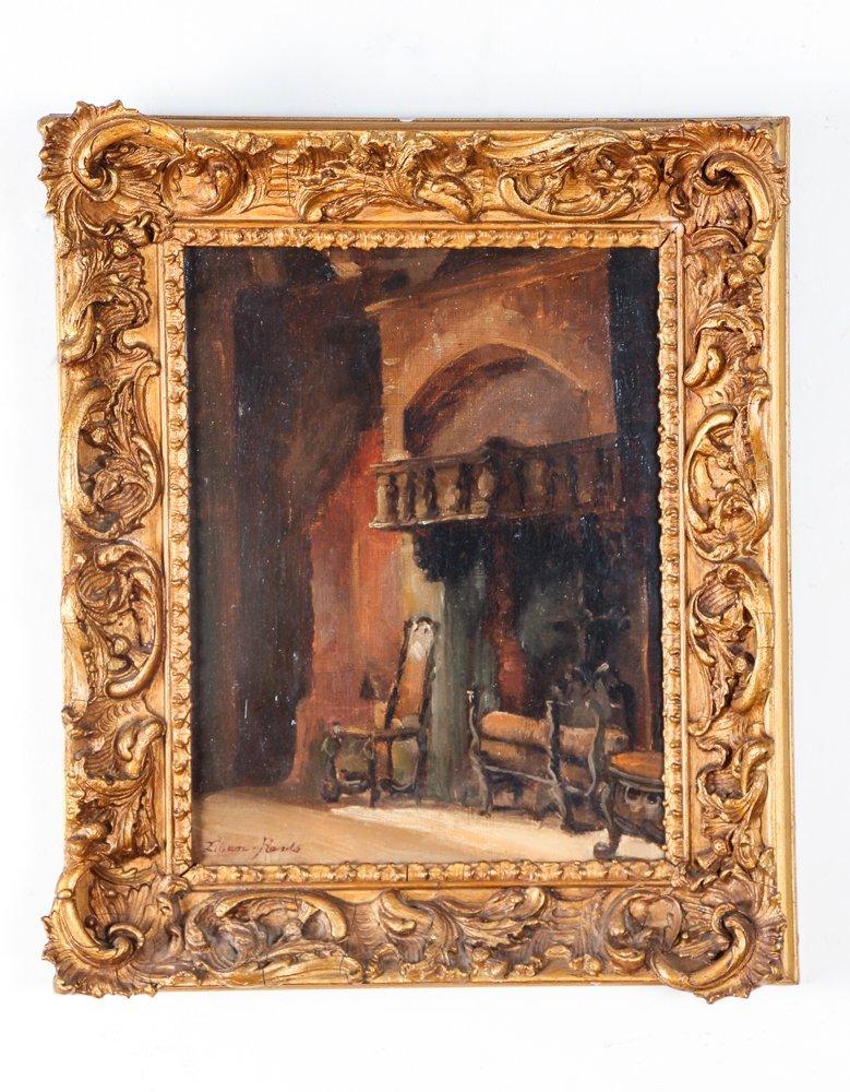 Impressionist Interior Depiction - 2