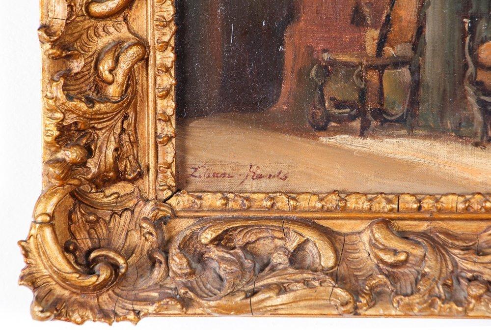 Impressionist Interior Depiction - 3