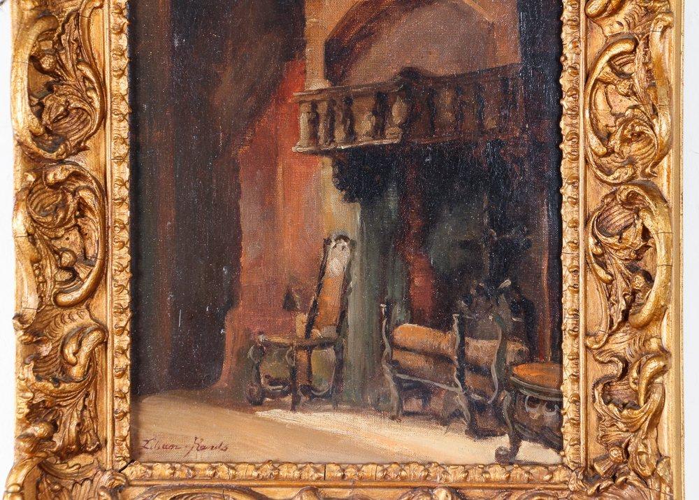 Impressionist Interior Depiction - 4