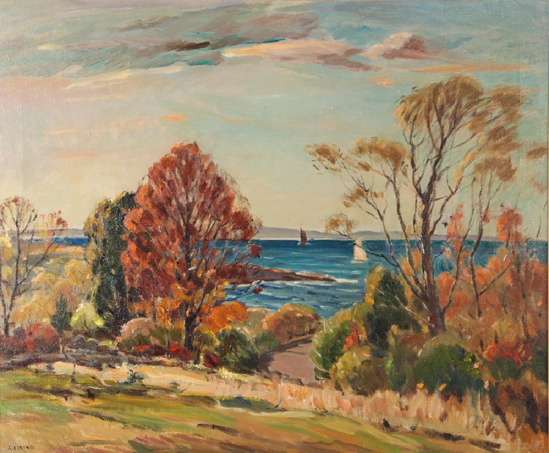 Antonio Cirino ptg. New England Coastal Landscape w