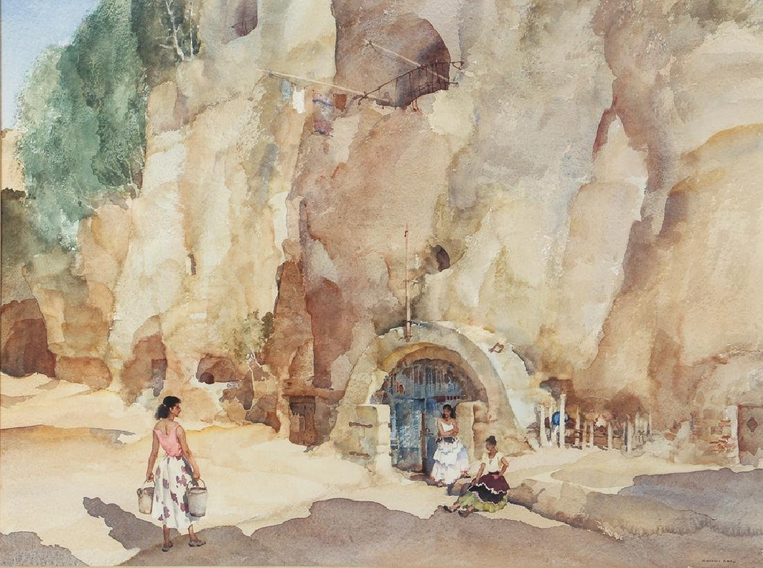 William Russell Flint wc Grotto Well