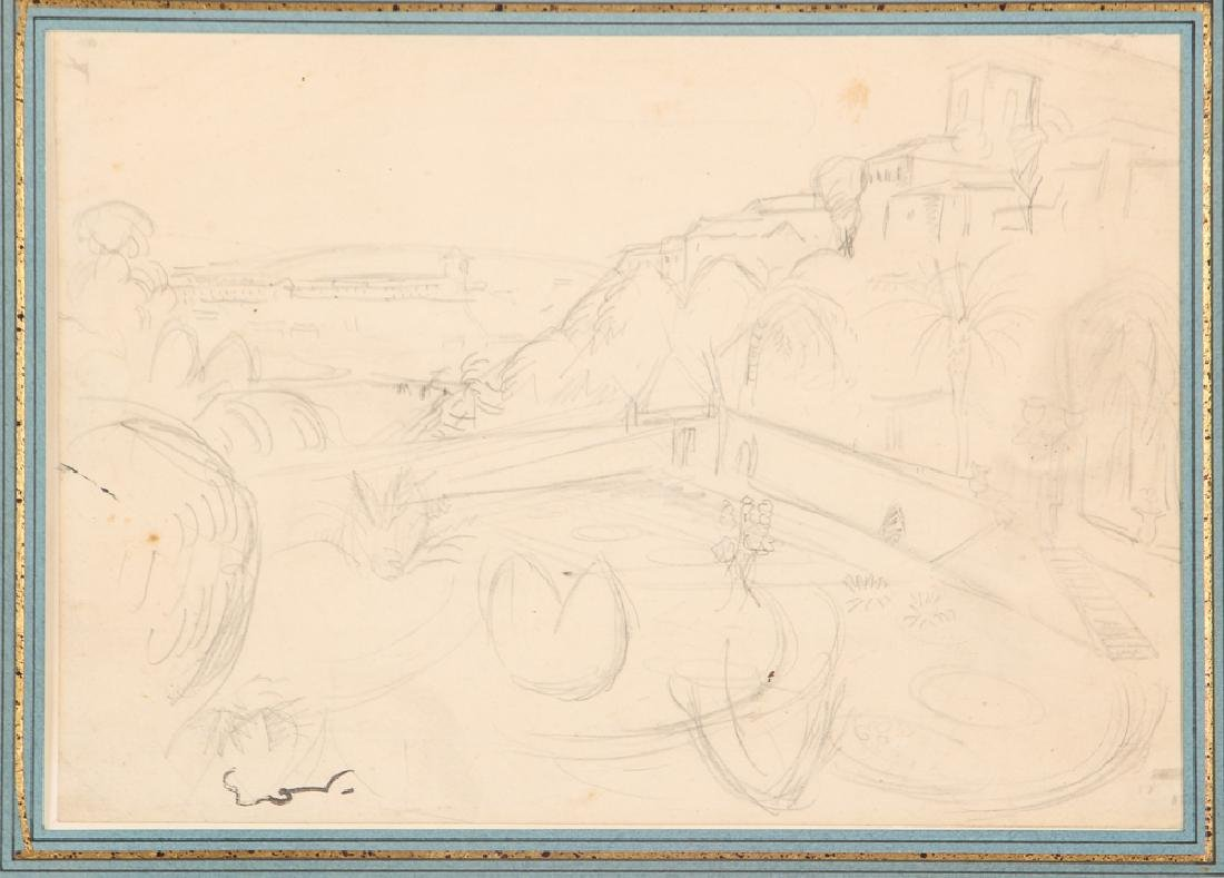 Achille-Emile Othon Friesz pencil drawing French