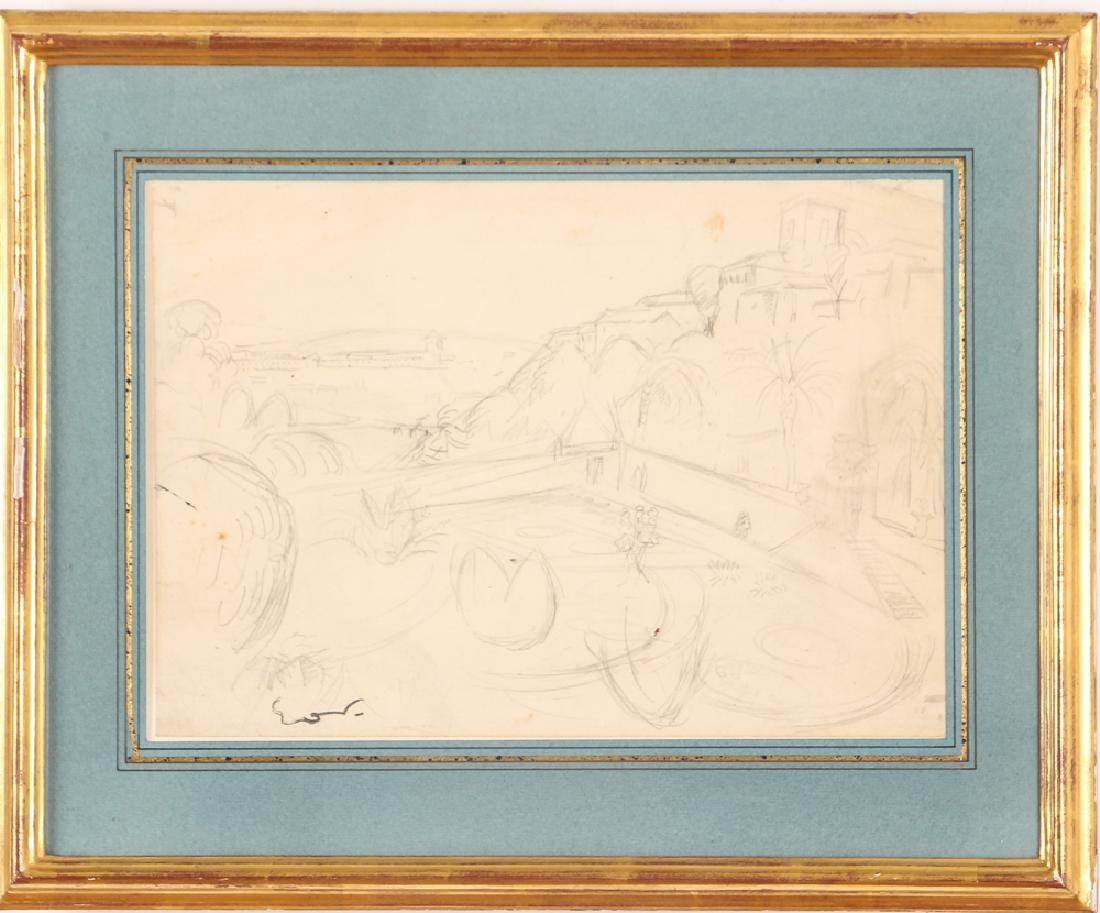 Achille-Emile Othon Friesz pencil drawing French - 2