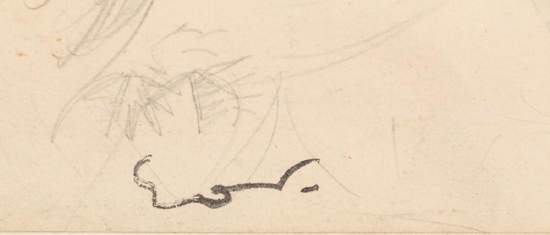 Achille-Emile Othon Friesz pencil drawing French - 3