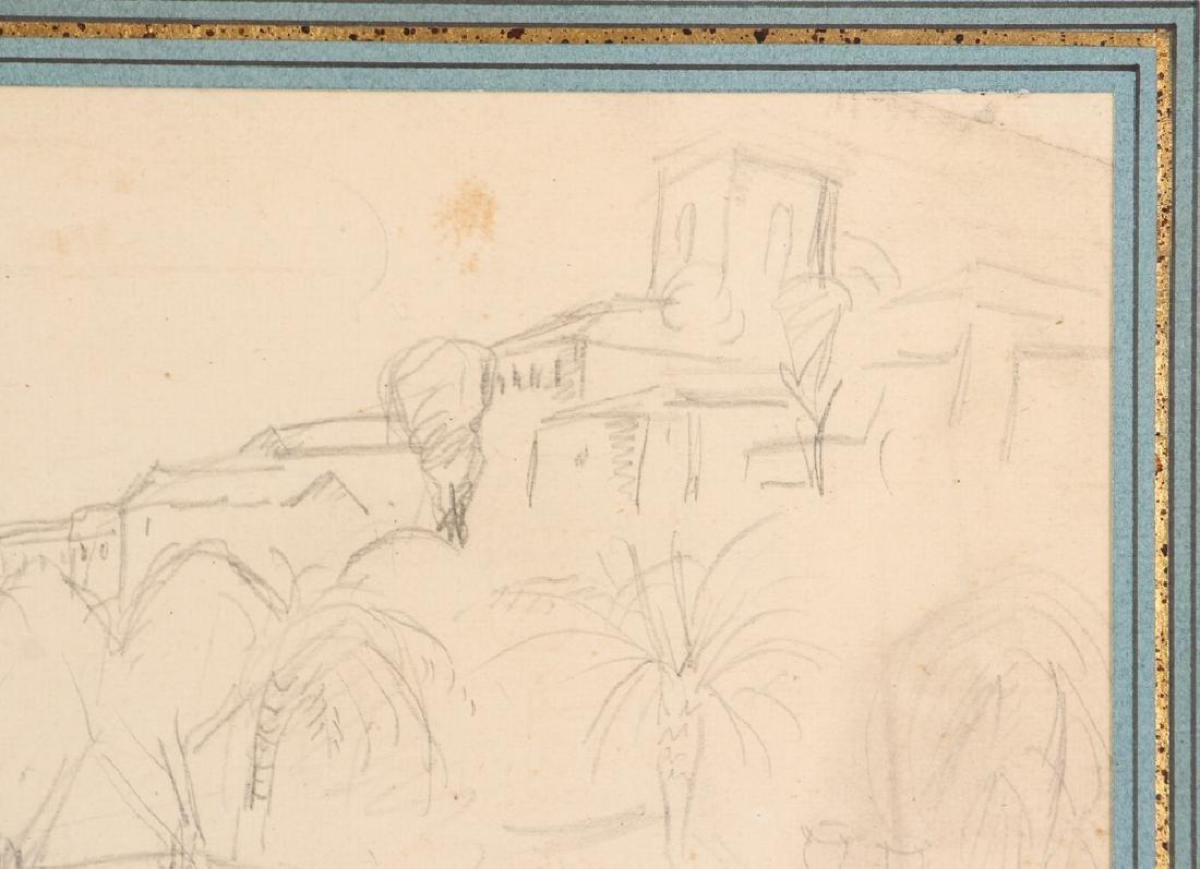 Achille-Emile Othon Friesz pencil drawing French - 4