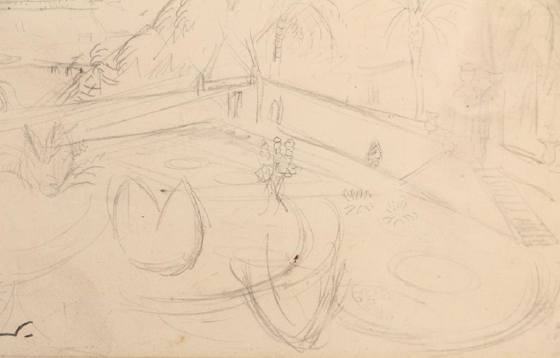 Achille-Emile Othon Friesz pencil drawing French - 5