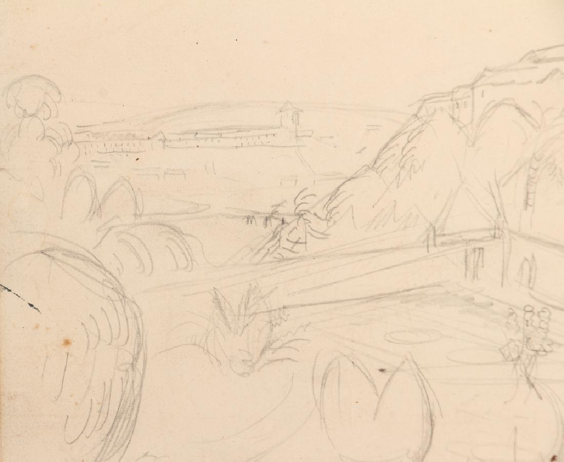 Achille-Emile Othon Friesz pencil drawing French - 6