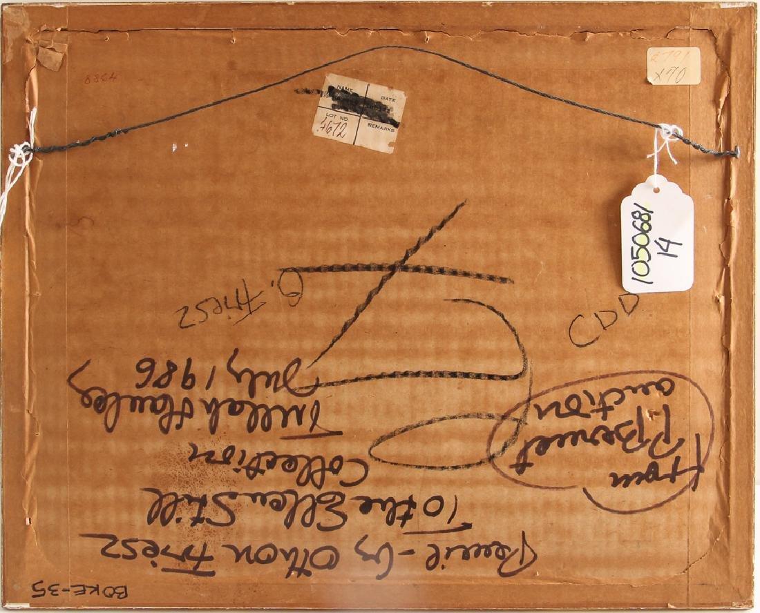 Achille-Emile Othon Friesz pencil drawing French - 7