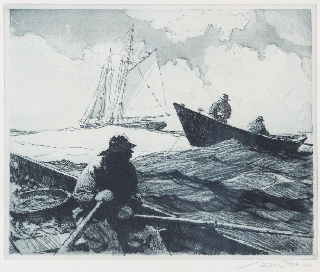 Gordon Grant Fisherman Lithograph