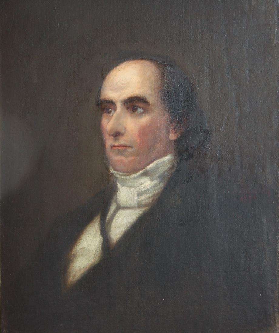 Daniel Webster Portrait by Healy