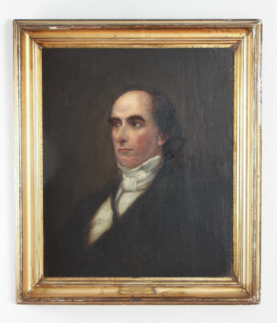 Daniel Webster Portrait by Healy - 2