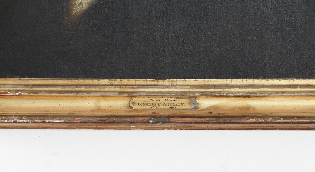Daniel Webster Portrait by Healy - 3