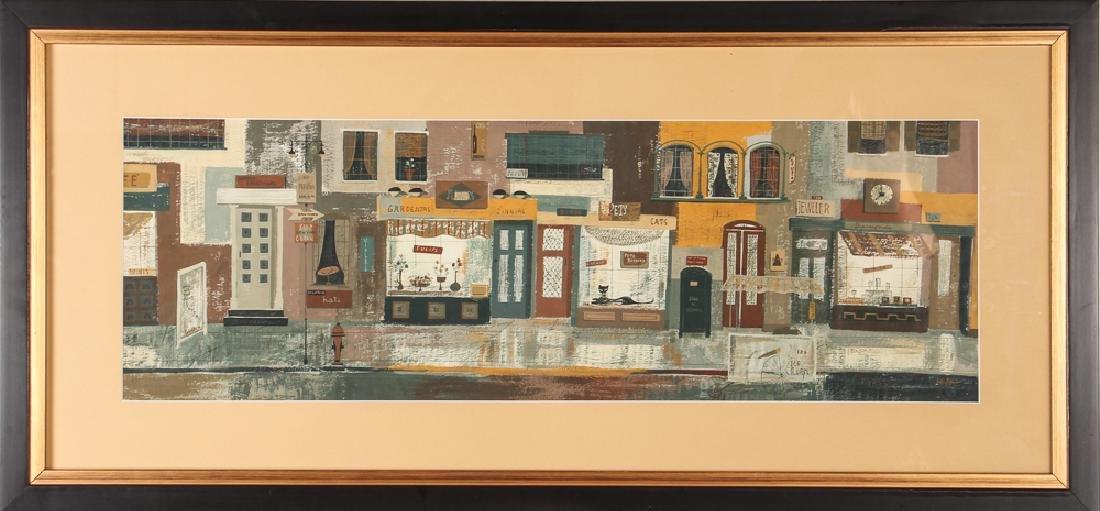 Margaret Layton Gordon Street New York (1954) - 2