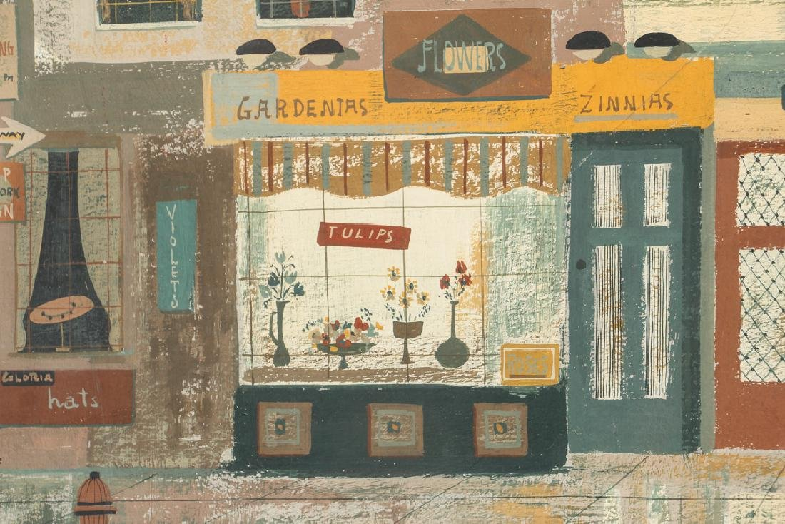 Margaret Layton Gordon Street New York (1954) - 5