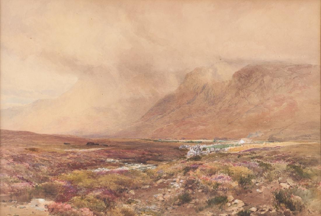 Paul Naftel British Landscape Watercolor
