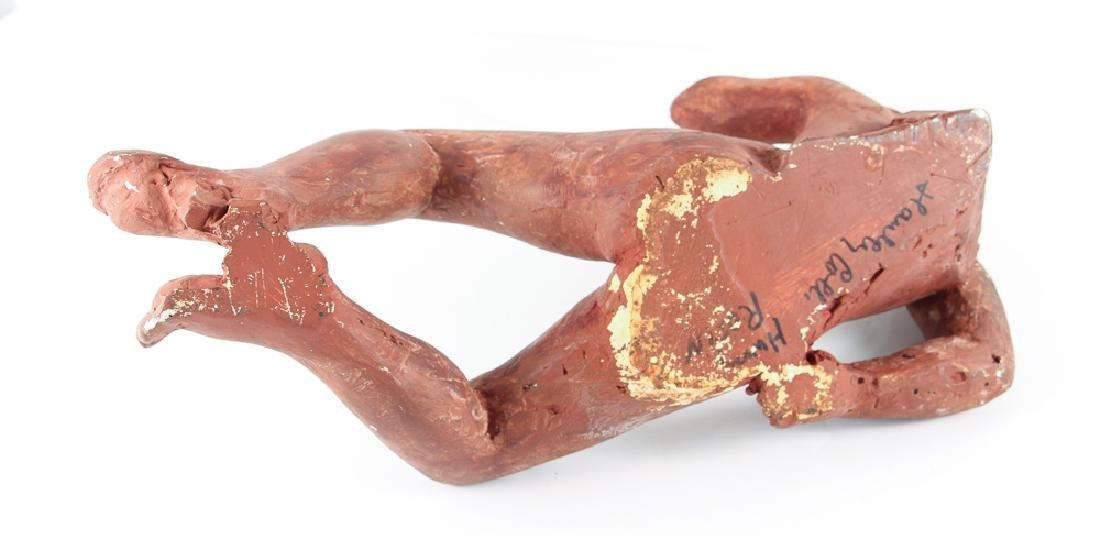 Harry Rosin terracotta sculpture Reclining Nude - 6