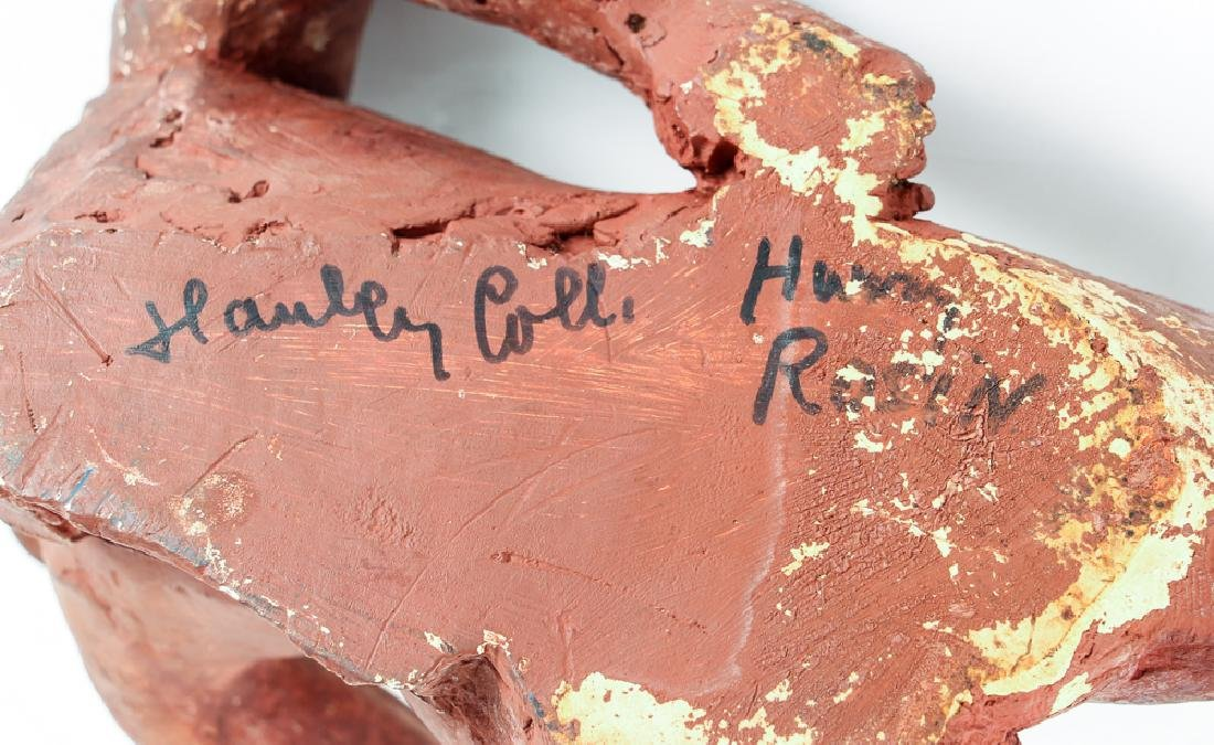 Harry Rosin terracotta sculpture Reclining Nude - 7