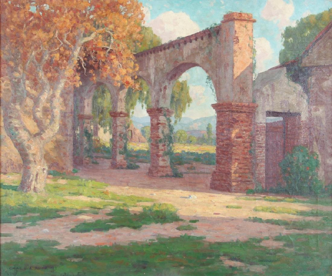 Charles L. A. Smith 1927 ptg.  San Juan Capistrano