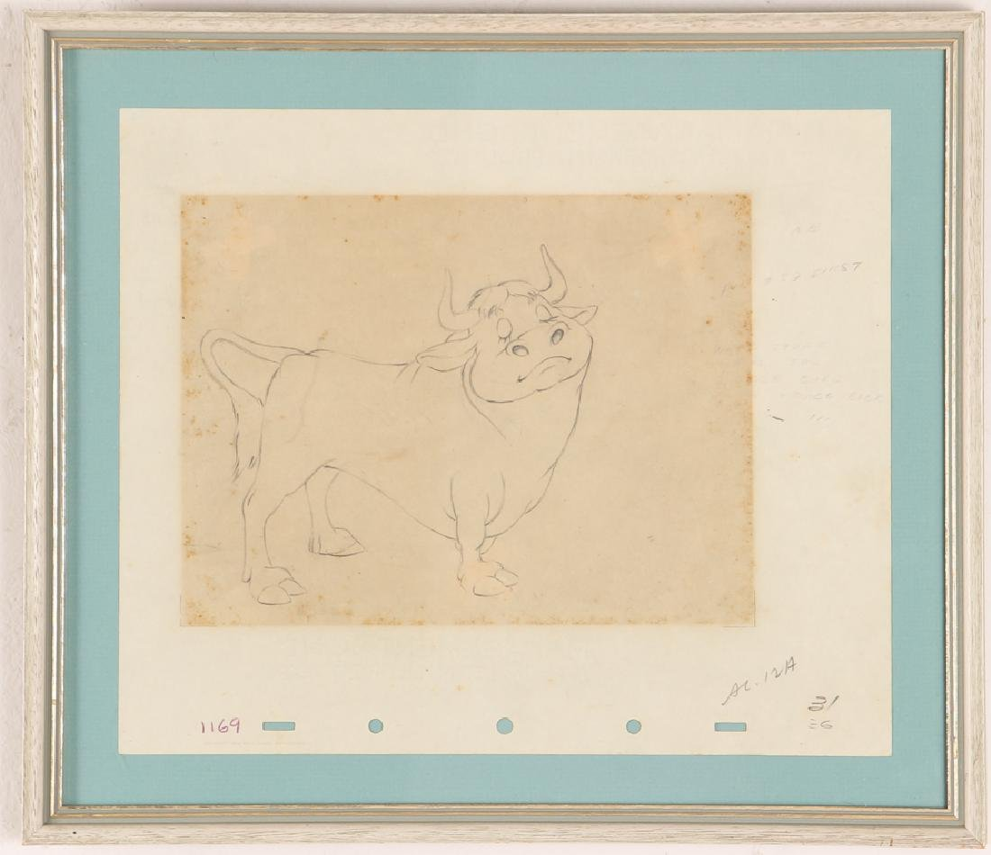 Walt Disney Courvoisier Galleries Ferdinand the Bull