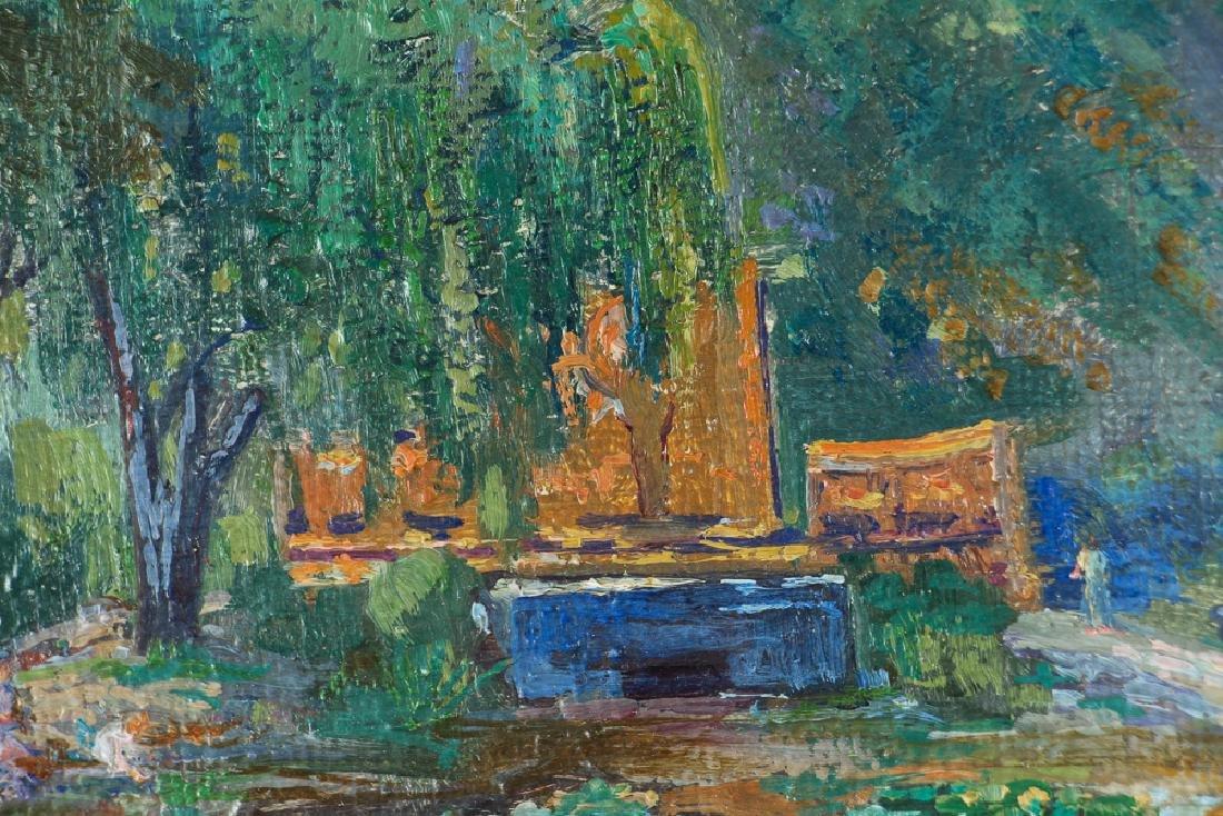 WILLIAM METZKES painting Westinghouse Memorial in - 4