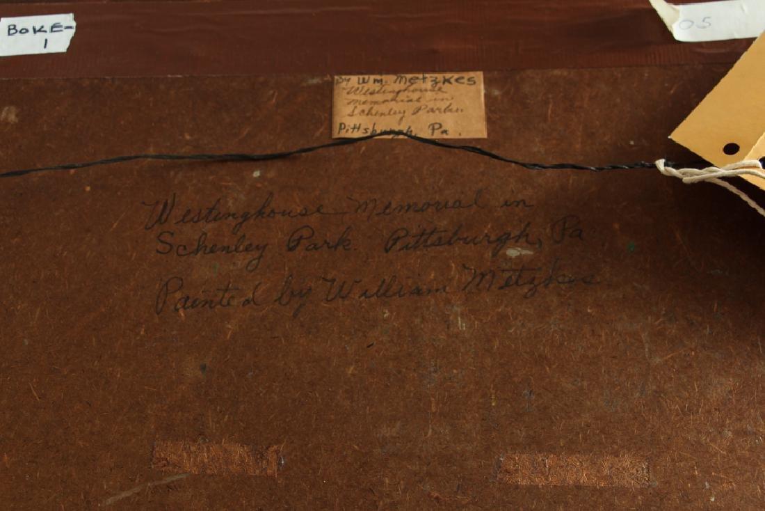 WILLIAM METZKES painting Westinghouse Memorial in - 6