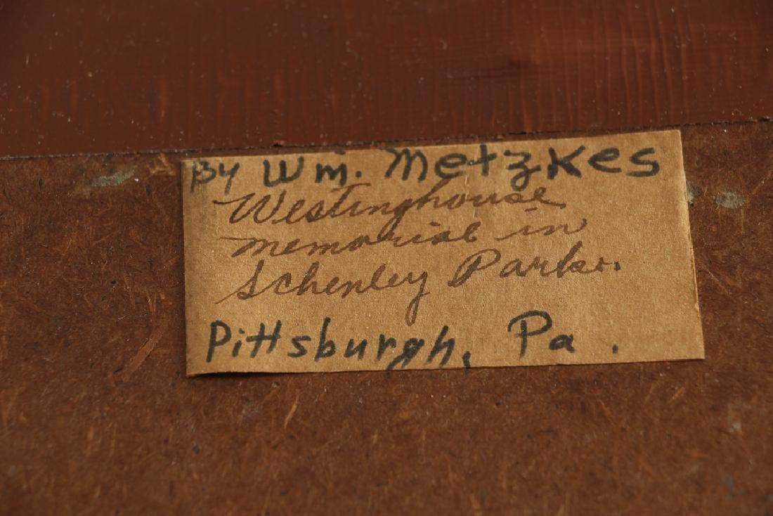WILLIAM METZKES painting Westinghouse Memorial in - 7